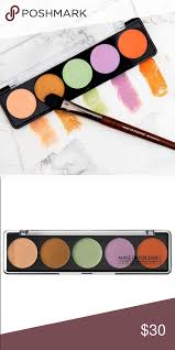 makeup forever camouflage cream palette no 5 this multi use cream palette is perfect for color correcting discoloration dark under eye circles redness