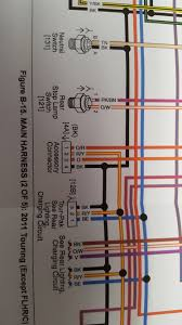 component 03 vrod wiring diagram harley wiring diagram vs auto Harley Accessory Plug In-Fairing help reading wiring schematic on accessory connector harley help harness close up jpg vrod diagram