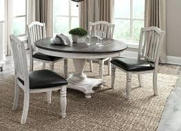 1014fc 1431fc c 5pc 5 pc bourbon county two tone finish solid wood 54 round dining table and chairs 54 round dining table and chairs