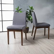 christopher knight home 300022 dimitri dining chairs set of 2 dark gray