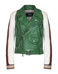 dsquared2 women s leather jackets spring summer and fall winter collections yoox