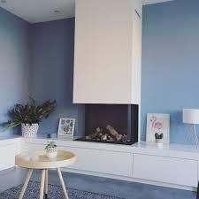 Blauwe Muur Woonkamer Ideeen Blauw Eenvoudig 25 Beste Ideen Over