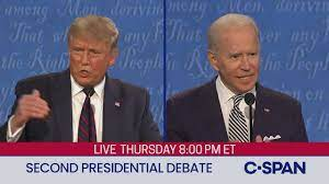 Second 2020 Presidential Debate between Donald Trump and Joe Biden - YouTube