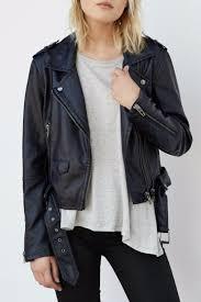 blanknyc vegan leather moto jacket front cropped image