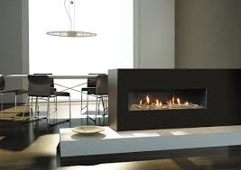 elegant contemporary gas fireplace inserts