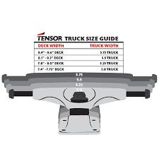 Tensor Alloys Black Trucks 5 0 Set Of 2