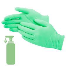 Uline <b>Aloe Latex</b> Gloves - Powder-Free S-15397 - Uline