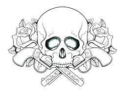 Sugar Skull Color Coloring Pages Sugar Skulls Free Sugar Skull