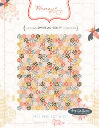 the honey pot quilt - free quilt pattern + kits available! | going ... & ... hexagons needed for the quilt, as well as the pattern and a die cut  template for marking the sewing dots. visit a stitch in time to see more  and grab ... Adamdwight.com