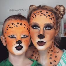 leopard fancy dress face paint tutorial kids or s you