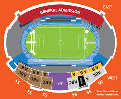 National Stadium Seating Chart National Sports Authority Tickets Tickets Iaaf World