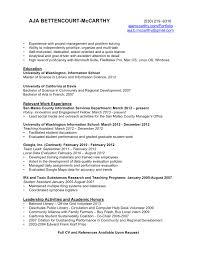 Resume Aja Bettencourt Mccarthy