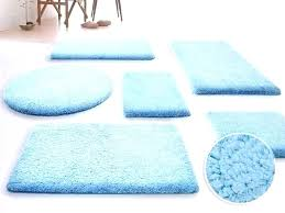 light blue bathroom rugs rug set brown and