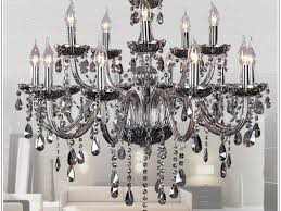 home gallery ideas home design gallery regarding elegant household grey crystal chandelier decor