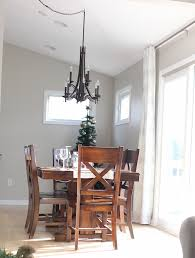 swag chandelier over dining table startling it s a grandville life new kitchen goodbye lighting decorating ideas
