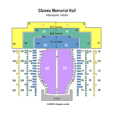 Clowes Hall Seating Chart Clowes Memorial Hall Events And Concerts In Indianapolis