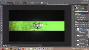 Youtube Channel Design Gaming Channel Speed Art Youtube