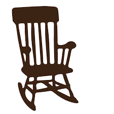 rocking chair silhouette. [SVG File] Rocking Chair Silhouette S
