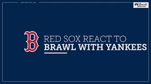 Bench Clearing Brawl Ensues Between Boston Red Sox And New
