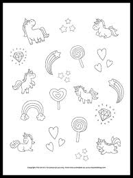 Find and download amazing rainbow pictures and images for free. Free Unicorns And Rainbows Coloring Page Printable The Art Kit