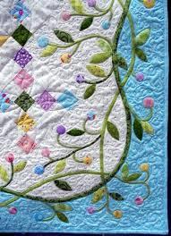 155 best Quilt Border Ideas images on Pinterest | Costura, Dads ... & Close up, Easter Basket quilt at Quilt2sr5 Adamdwight.com