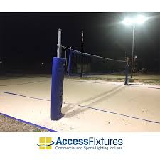 led volleyball court lighting
