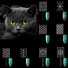 Eye Cat Design Us 0 48 34 Off 3d Magical 9 Design Effects Cat Eye Magnetic Stick Strong Magnet For Gradients Cat Eye Uv Gel Nail Polish Diy Nail Art Tools In Nail