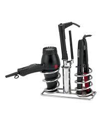 salon appliance holder wall mount hair dryer holder holder for hairdryer and curling iron