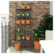 Wall Planters Ikea Salladskl Plant Stand Outdoor Grey 173 Cm Plants Garden Ideas
