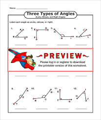 16 Sample High School Geometry Worksheet Templates | Free PDF ...