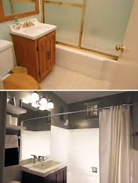 Image Small Few Last Touchups And This Once Sad Unusable Bathroom Is Open For Business Remodel Ideas Small Bathroom Makeover Before And After