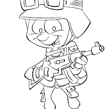 World War I Allied Soldier Army Coloringge At Yescoloring Thisges To
