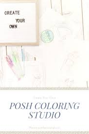 Creat Your Own Coloring Pages With