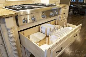 how to dish drawer organizer, how to, kitchen cabinets, kitchen design,  organizing
