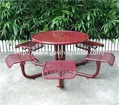 metal mesh patio furniture. Wire Mesh Patio Furniture Vintage Outdoor Welded Cafe Table Chair Set Metal Style