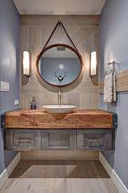 Industrial Eclectic Bathroom Rustic Modern Bathroom Industrial Bathroom Decor Eclectic Bathroom