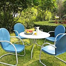 Retro Metal Patio Furniture Vriety Nd Ebay Vintage Metal Outdoor