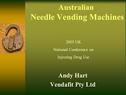 Syringe Vending Machine Locations Melbourne Awesome Australian Needle Vending Machines Andy Hart Vendafit Pty Ltd 48