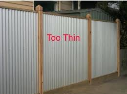 corrugated metal fence diy cost vs wood