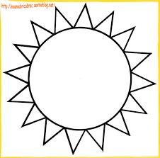 116 Dessins De Coloriage Soleil Imprimer