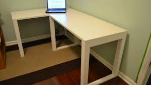 How To Make A Corner Desk Diy Plans For Desks Enchanting Home Office Free  ...