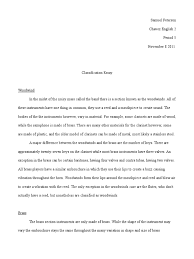 classification essay brass instruments woodwind instruments