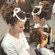 お祭りの髪型おすすめ13選女性の法被や神輿に合う派手なものや飾りも