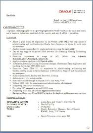 1 Year Experience Resume Format For Java Free Download