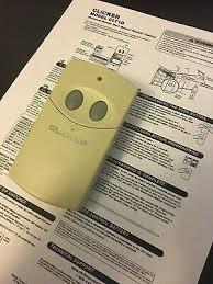 Chamberlain Technical Support Clicker Clt1d Universal Garage Door Opener Remote Control