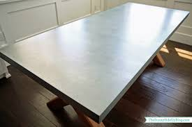 Zinc Dining Table French Dining Nook Table The Sunny Side Up Blog