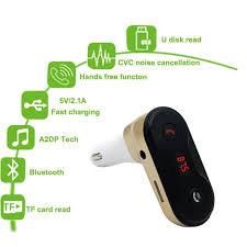 Wireless <b>FM Transmitter</b> Modulator Bluetooth Car Kit G7 Charger ...