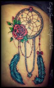 Girly Dream Catchers Girly Dreamcatcher tattoo @erykane Tattoo Pinterest 1