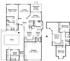house plans with separate inlaw apartment floor plan with guest quarters bungalow house plans with separate