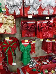 File:Christmas decorations in a store wreaths and bows 6.jpg